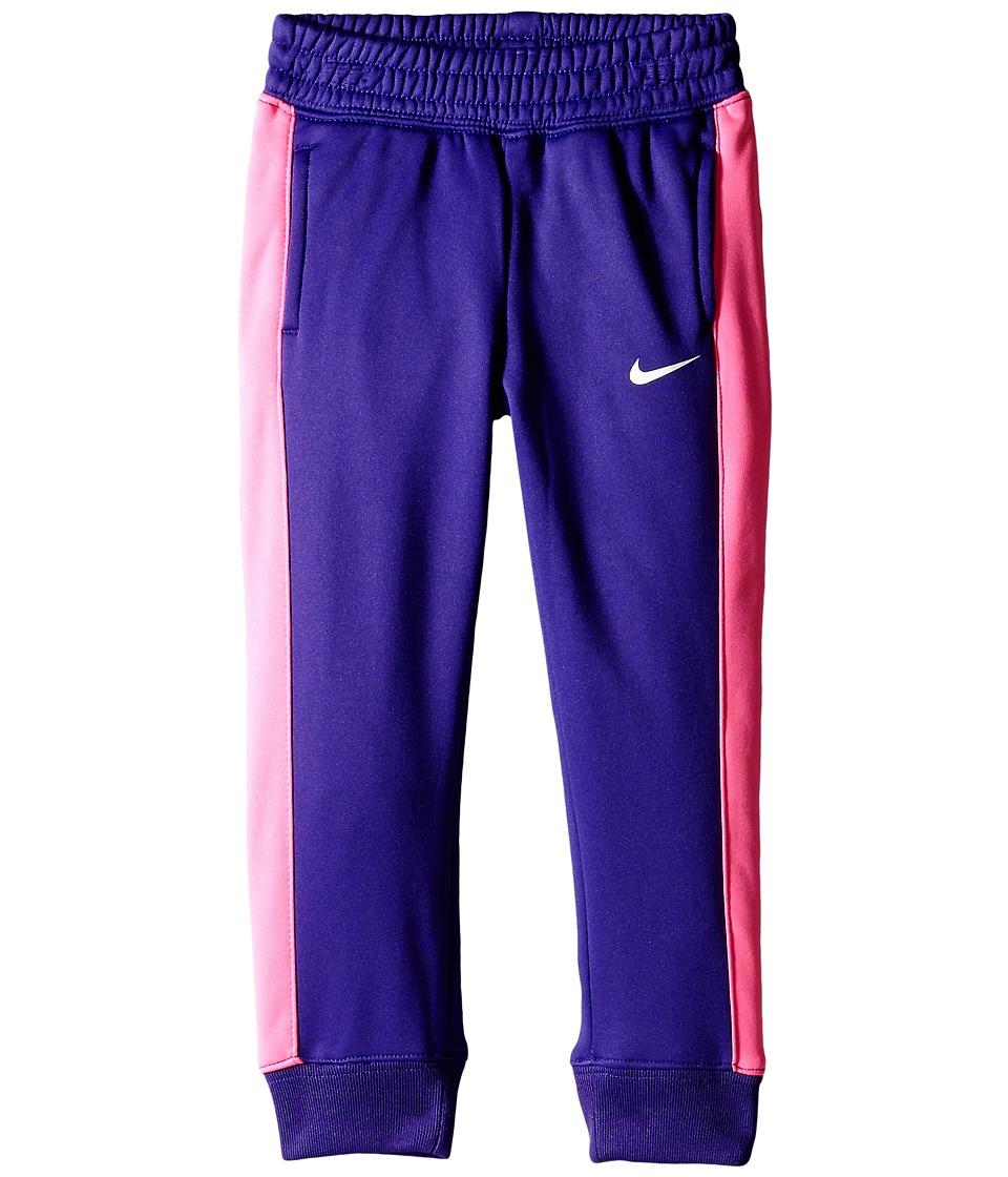 Nike Kids - KO 3.0 Fleece Pants (Toddler) (Court Purple) Girl's Casual Pants