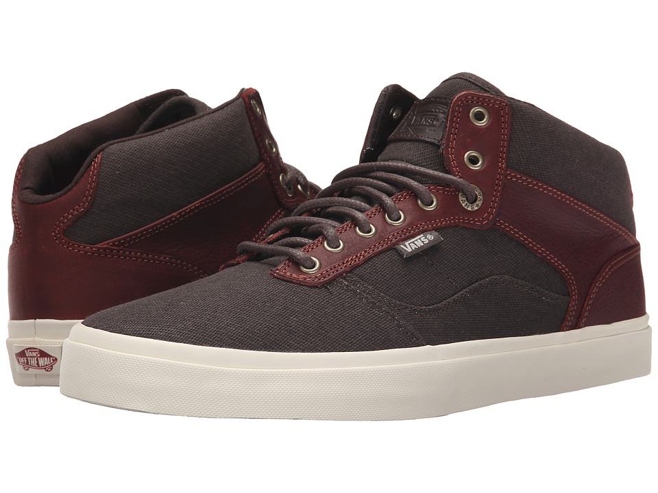 Vans - Bedford + ((Leather) Henna) Men's Skate Shoes