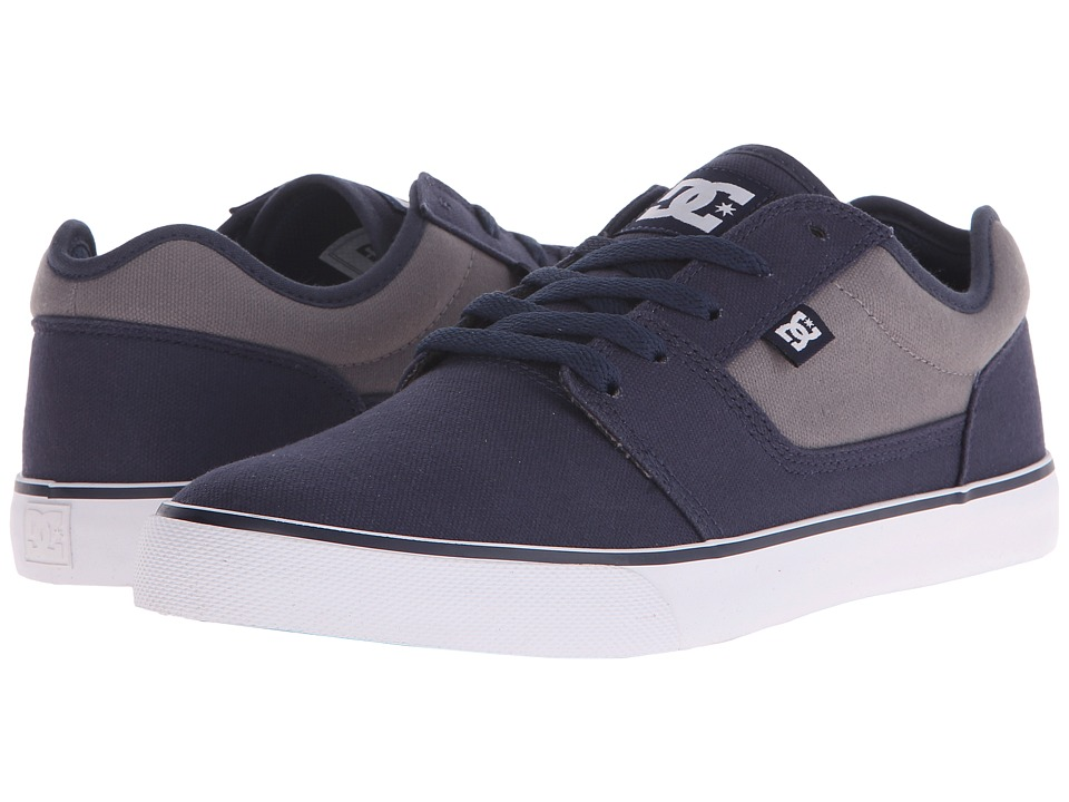 DC - Tonik TX (Navy/Grey) Men's Skate Shoes