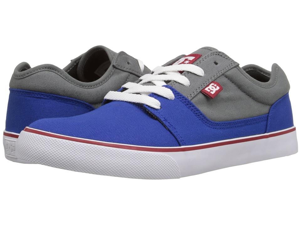 DC - Tonik TX (Grey/Grey/Green) Men's Skate Shoes