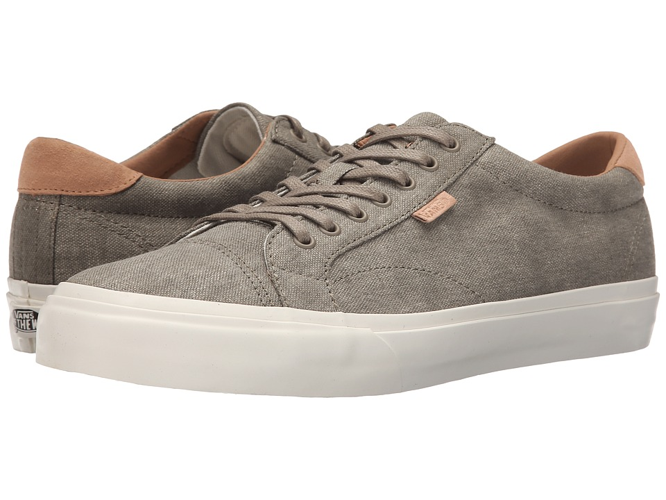 Vans - Court + ((Washed Canvas) Covert Green) Men's Skate Shoes