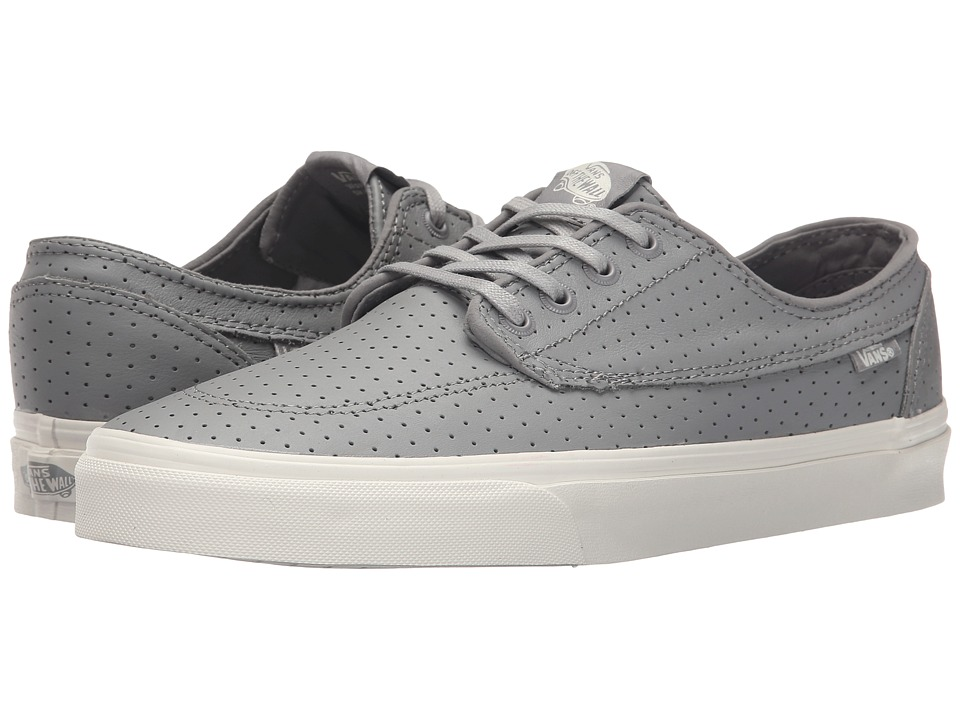 Vans Brigata + ((Perf Leather) Grey) Men