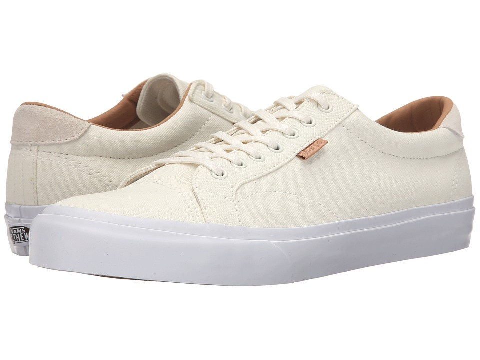 Vans - Court + ((Washed Canvas) Marshmallow) Men's Skate Shoes