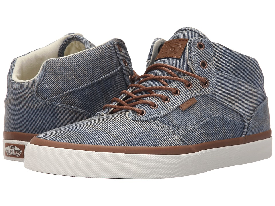 Vans - Bedford + ((Acid Denim) Blue) Men's Skate Shoes