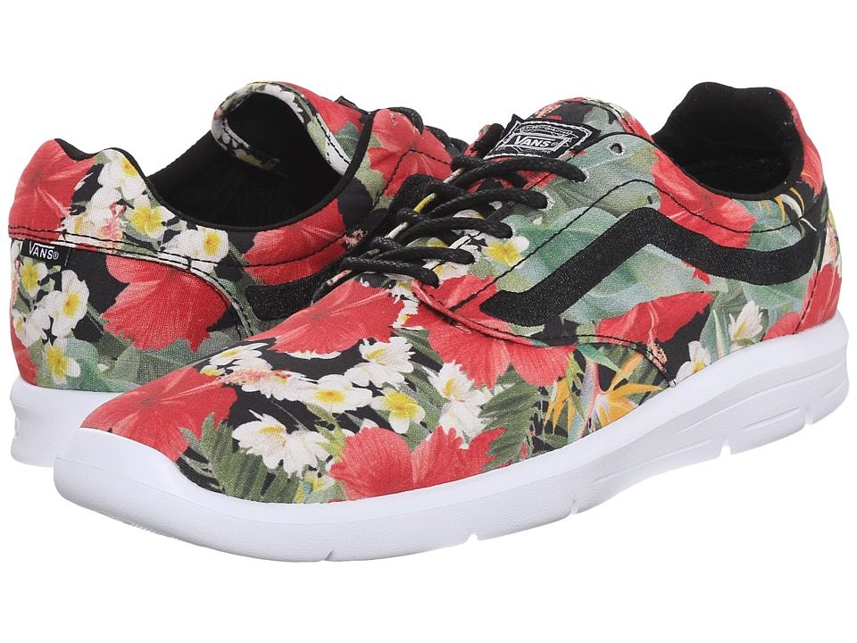 Vans - Iso 1.5 + ((Digi Aloha) Black) Men's Skate Shoes