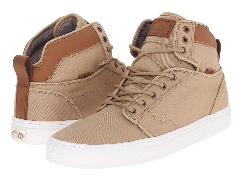Vans - Alomar + ((T&L) Khaki/White) Men's Skate Shoes