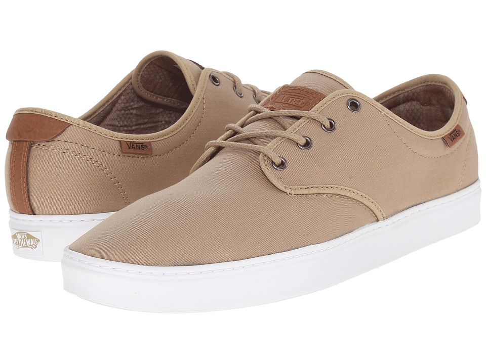 Vans - Ludlow + ((T&L) Khaki/White) Men's Skate Shoes