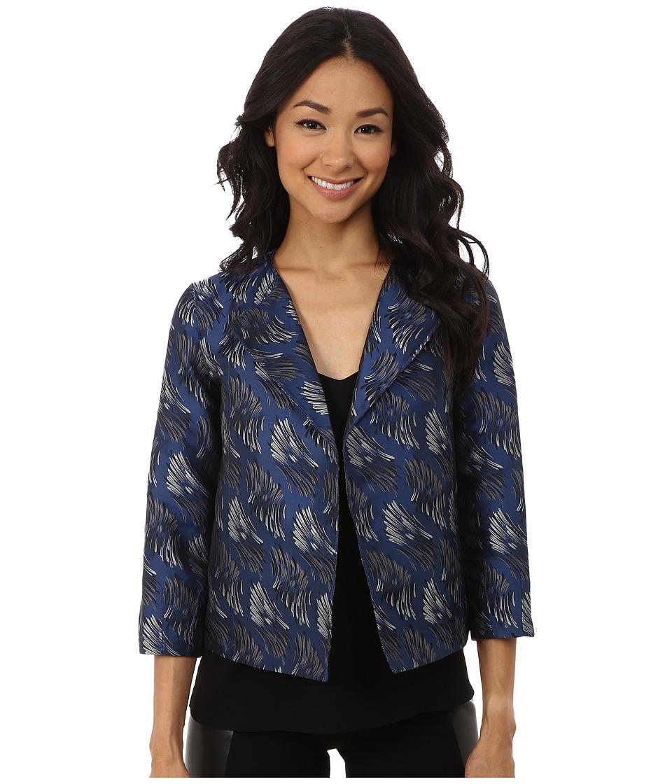 Anne Klein - Bunuel Jacket (Raven Blue Combo) Women's Coat