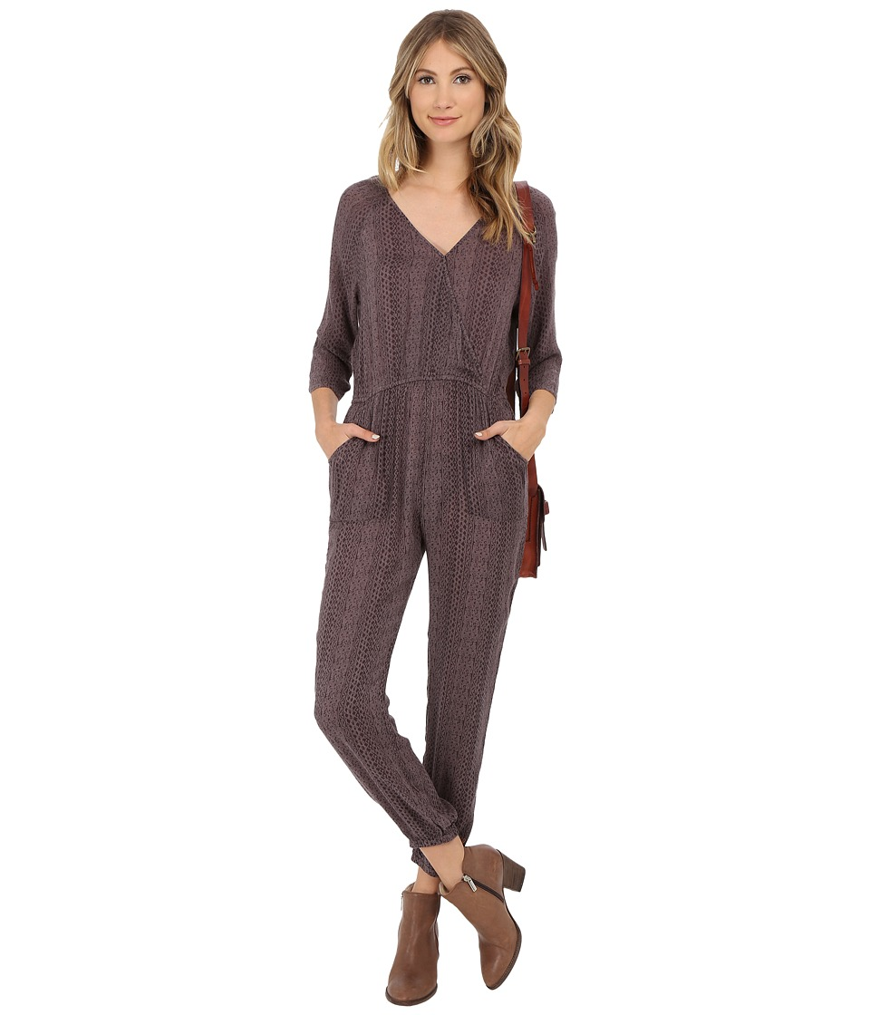O'Neill - Velma Jumper (Gunmetal) Women's Jumpsuit & Rompers One Piece
