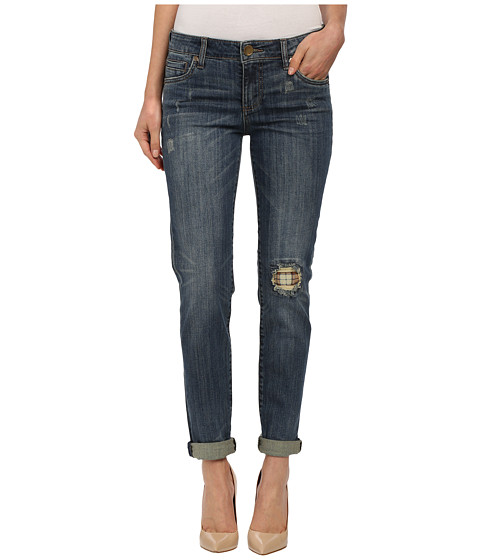 KUT from the Kloth - Catherine Boyfriend Jeans in Adopt/Dark Stone Base (Adopt/Dark Stone Base) Women