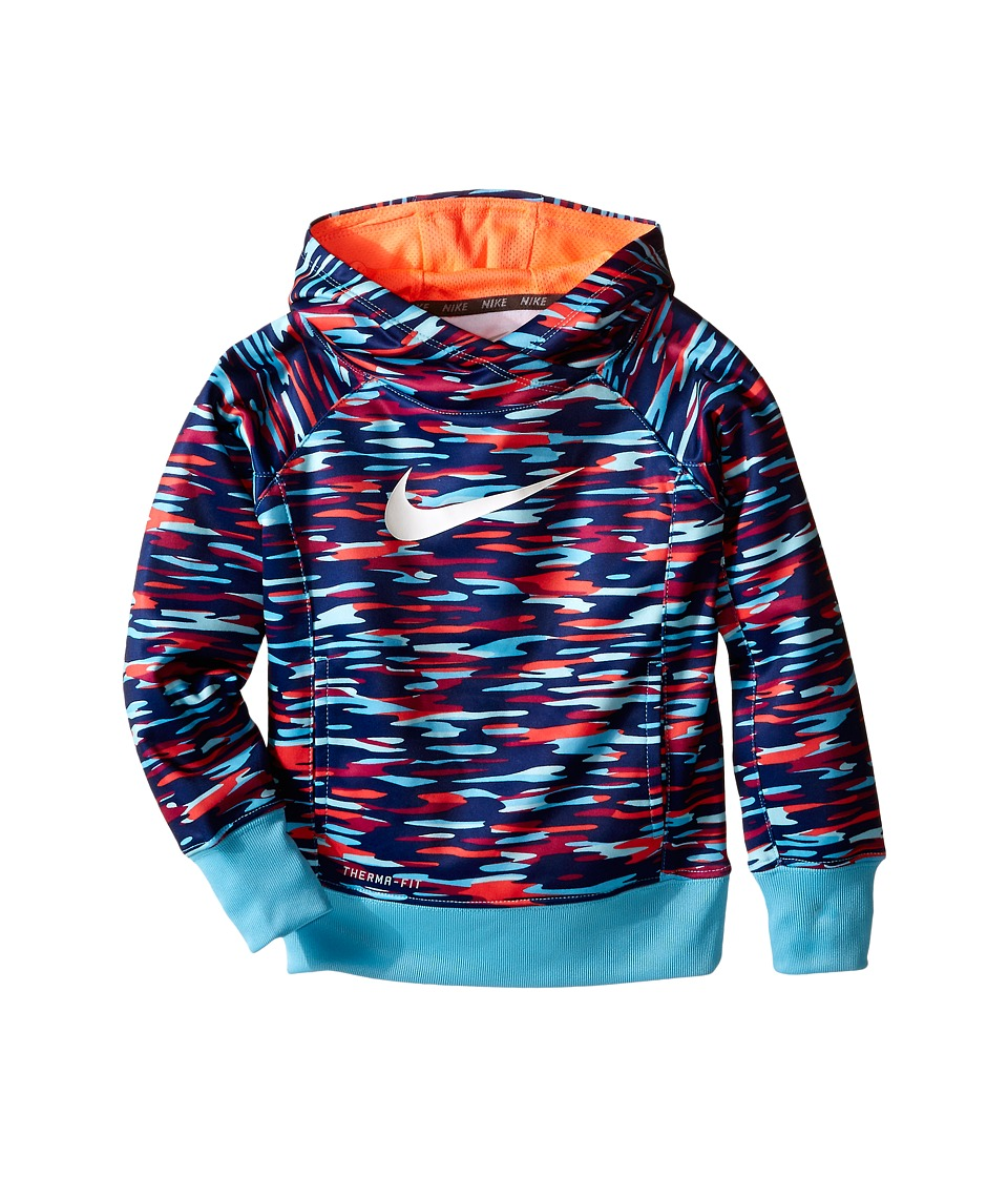 Nike Kids - KO 3.0 GFX OTH Hoodie (Little Kids) (Tide Pool Blue) Girl's Sweatshirt