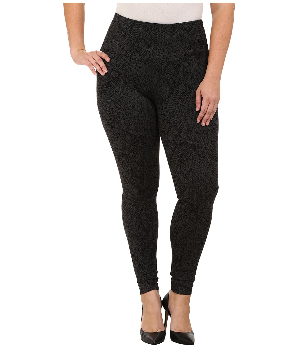 Lysse - Plus Size Ponte Legging w/ Center Seam 15190 (Pixel Python) Women's Casual Pants