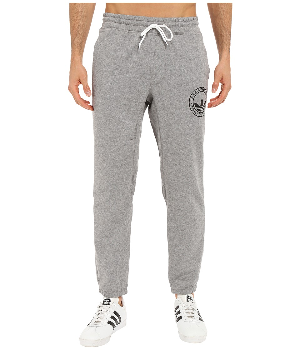 adidas Skateboarding - Clima Skate Sweatpants (Core Heather) Men's Casual Pants