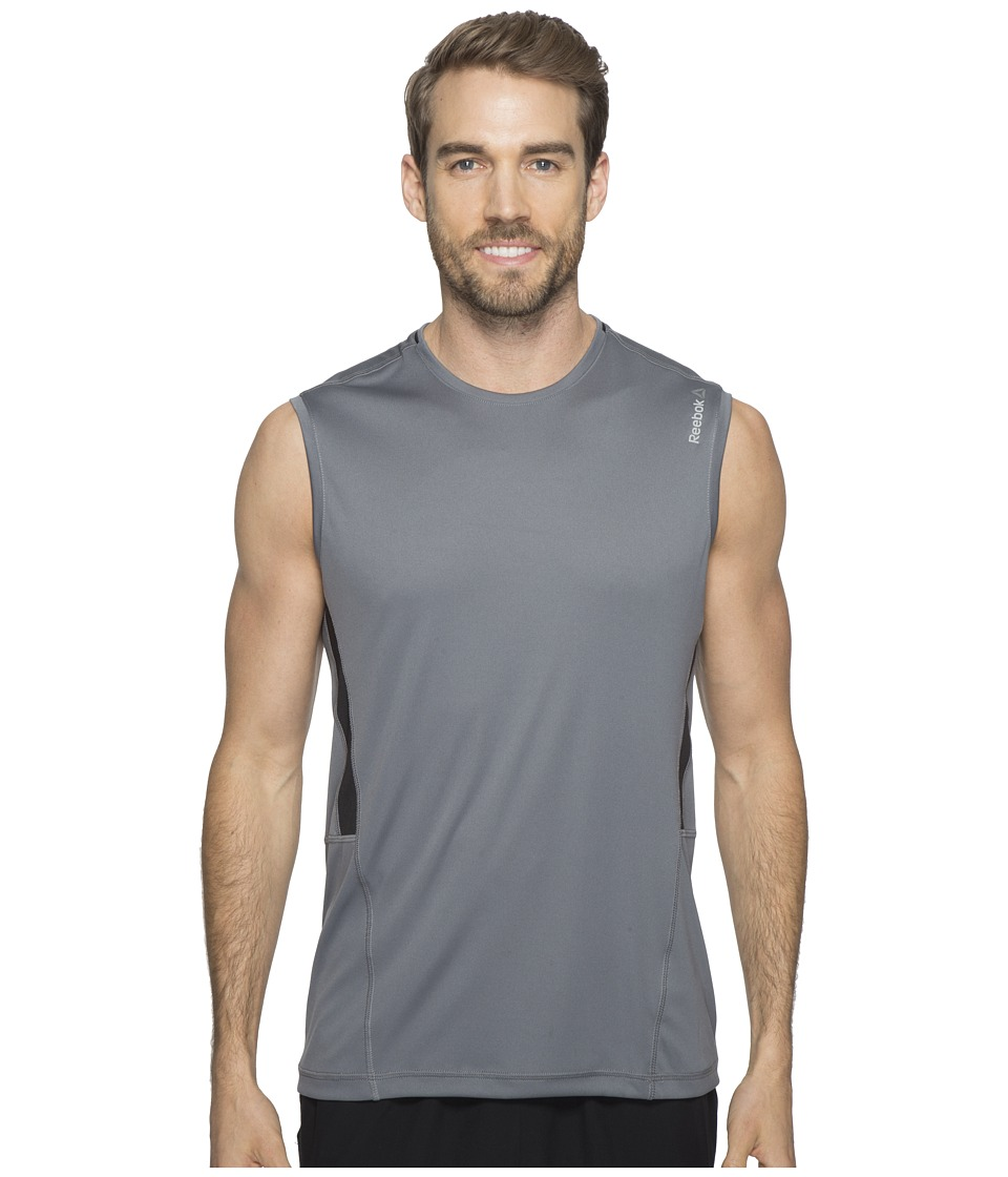 Reebok - Workout Ready Sleeveless Tech Top (Alloy) Men's Workout