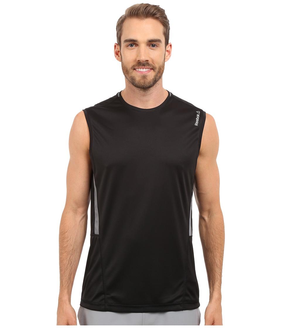 Reebok - Workout Ready Sleeveless Tech Top (Black) Men's Workout