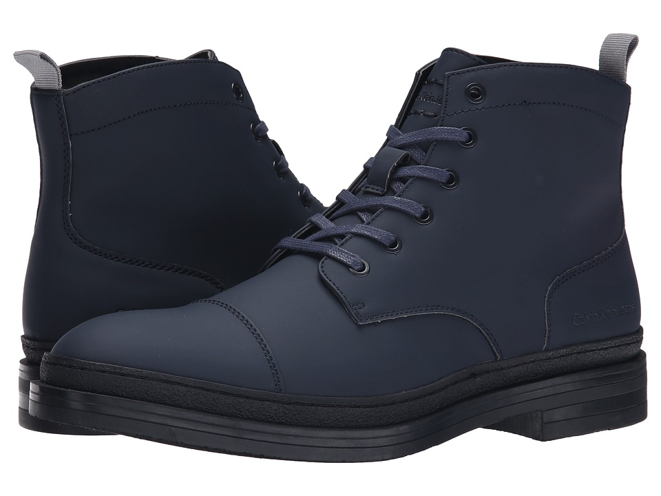 Calvin Klein Jeans - Navid (Midnight Matte Rubber Smooth) Men's Shoes