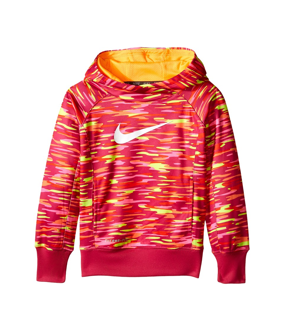 Nike Kids - KO 3.0 GFX OTH Hoodie (Little Kids) (Vivid Pink) Girl's Sweatshirt