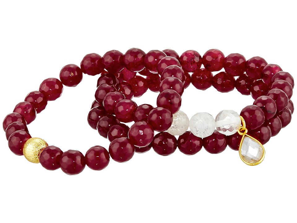 Dee Berkley - Candy Apple Bracelet (Ruby) Bracelet
