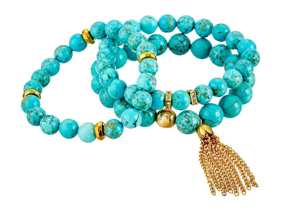 Dee Berkley - Turquoise and Caicos Bracelet (Turquoise) Bracelet