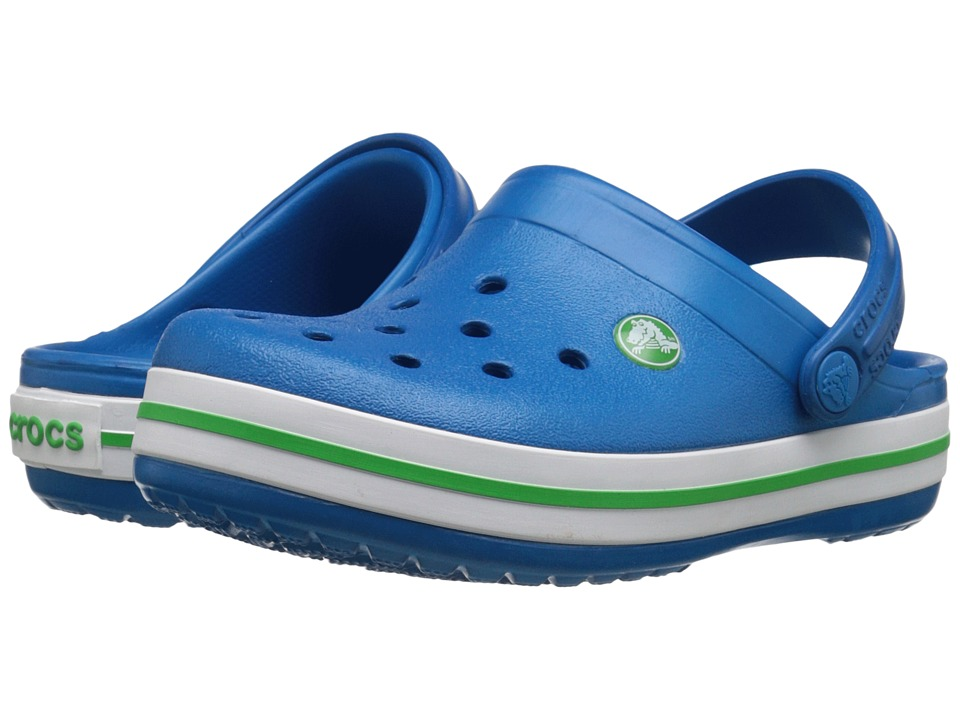 Crocs Kids - Crocband Clog (Toddler/Little Kid) (Ultramarine) Kids Shoes
