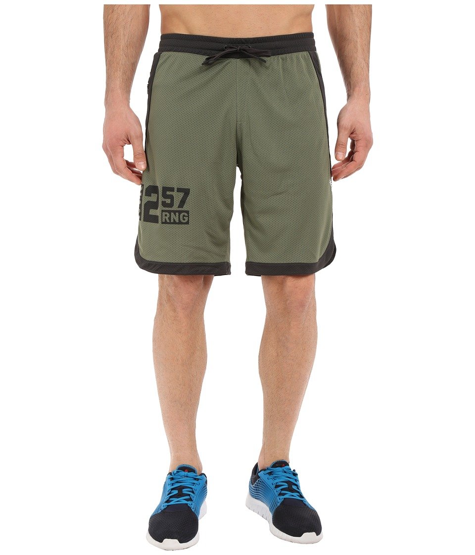 Reebok - One Series Speedwick Mesh Knit Shorts (Canopy Green) Men