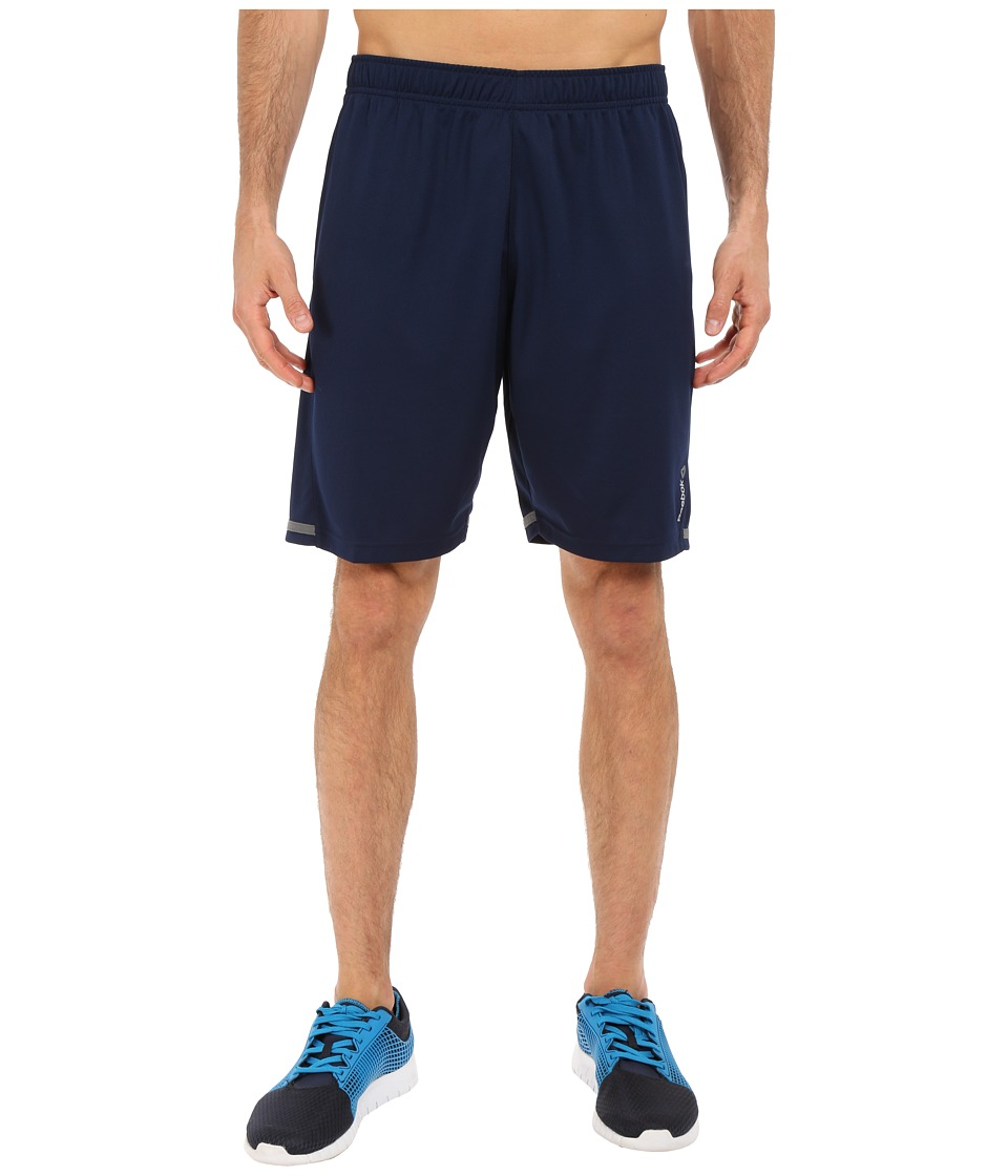 Reebok - Workout Ready Textured Shorts (Collegiate Navy) Men's Shorts