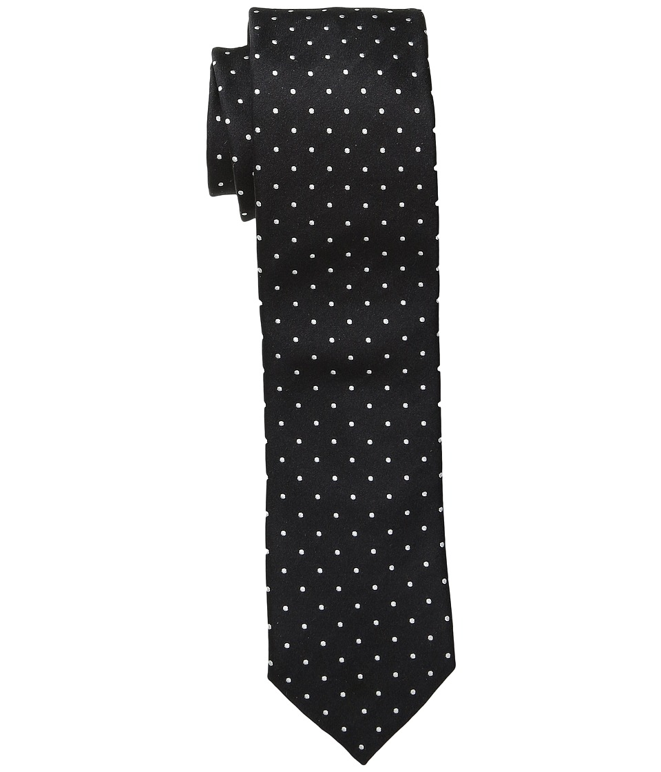 Dolce & Gabbana - Polka Dot Silk Tie (Black/White Dots) Ties