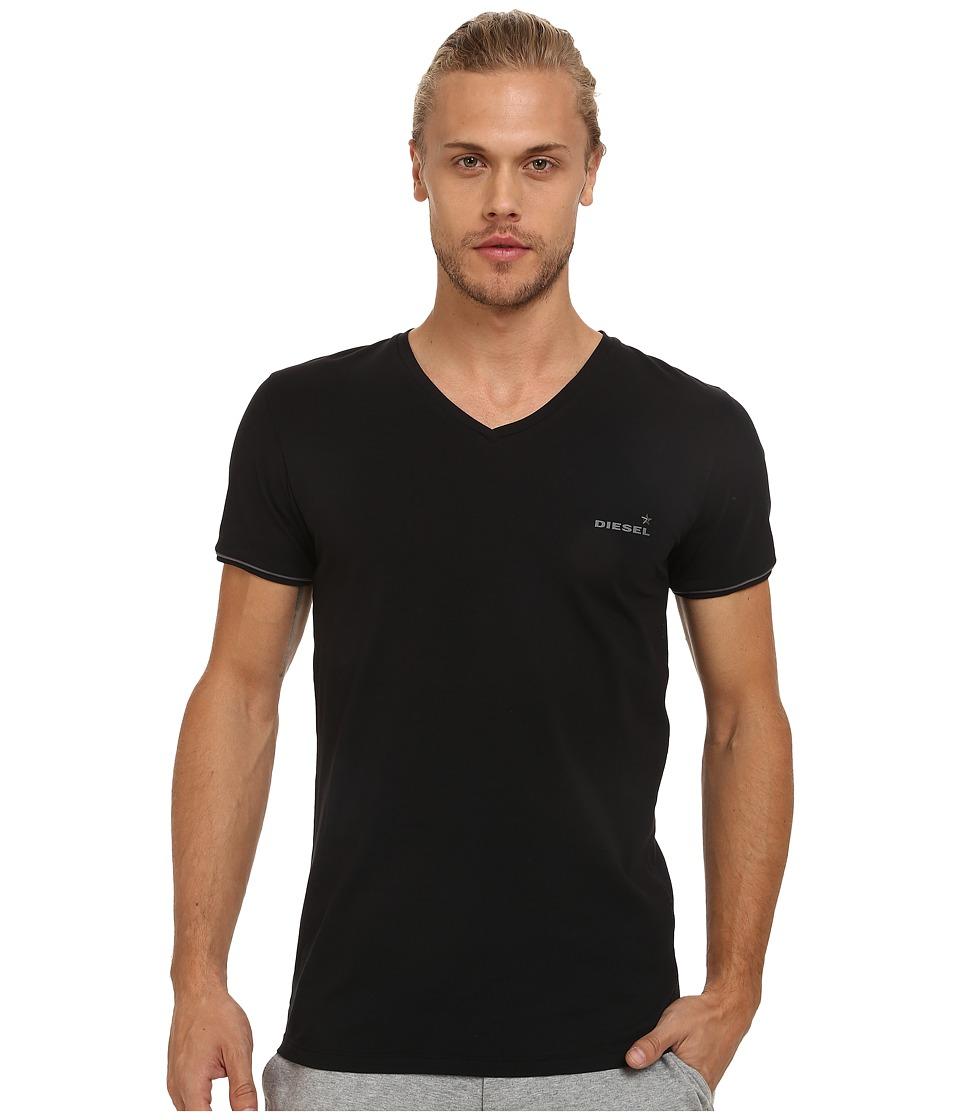 Diesel - Umtee-Michael T-Shirt TAIS (Black) Men's Short Sleeve Pullover
