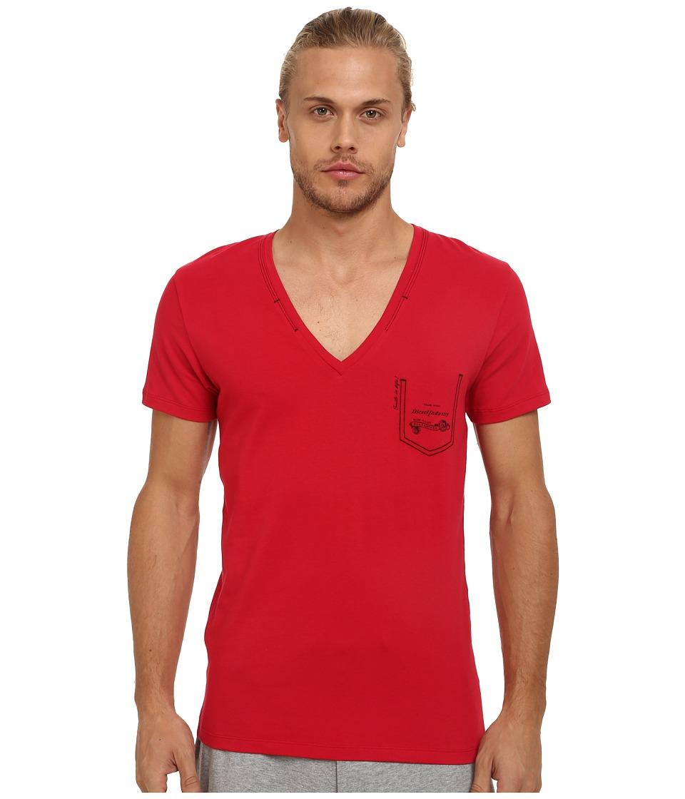 Diesel - Umtee-Jesse T-Shirt JAHH (Jester Red) Men's Short Sleeve Pullover
