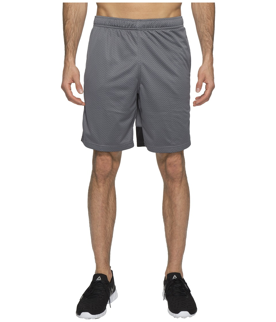 Reebok Workout Ready Mesh Shorts (Alloy) Men
