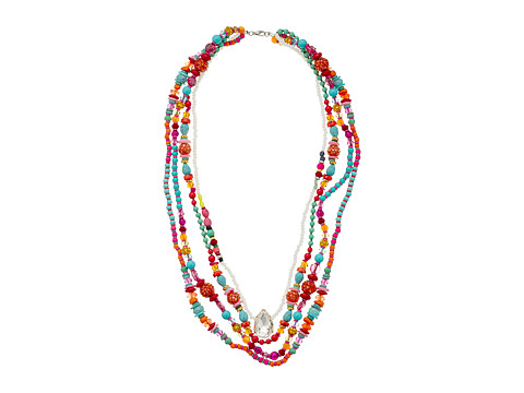 Gypsy SOULE - CRN13 (Pink/Orange/Turquoise) Necklace