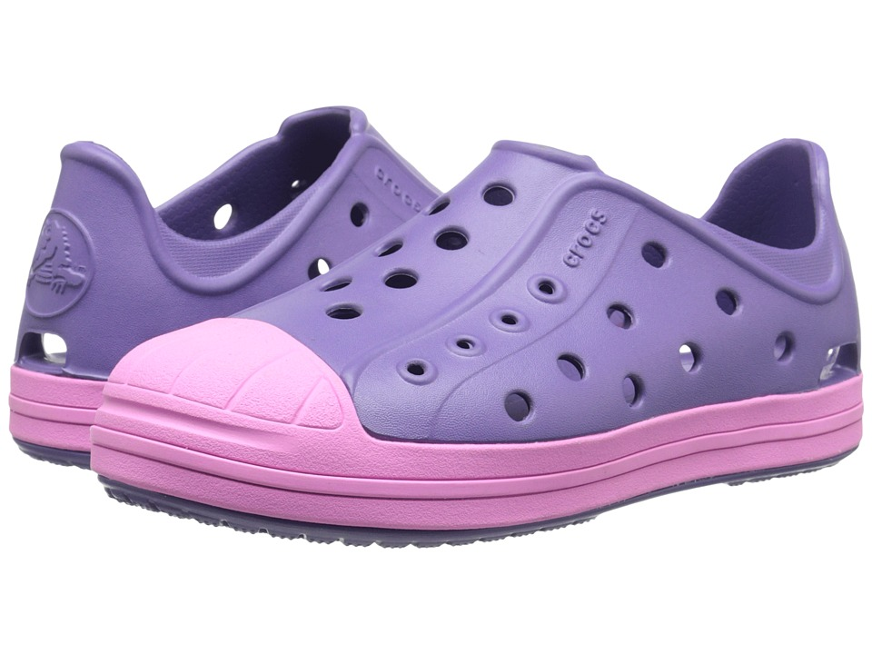 Crocs Kids - Bump It Shoe (Toddler/Little Kid) (Blue Violet) Girls Shoes