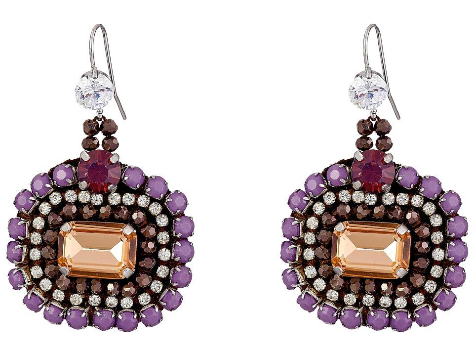 Gypsy SOULE - CRE45 (Lilac) Earring