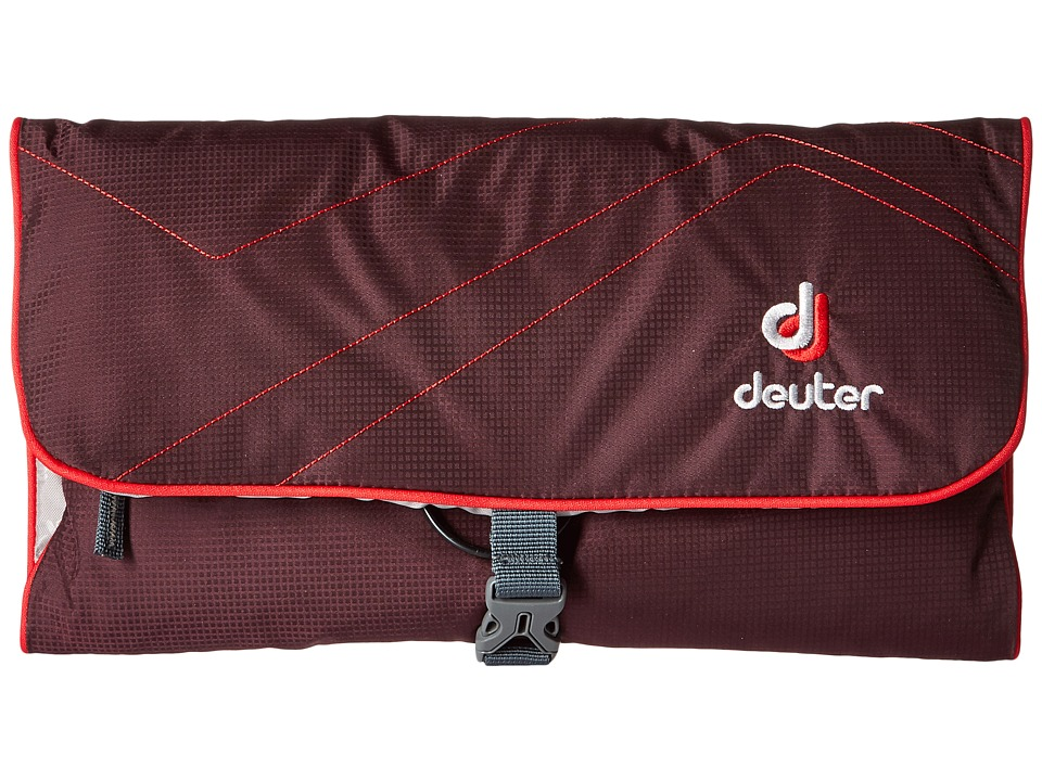 Deuter - Wash Bag II (Aubergine/Fire) Backpack Bags