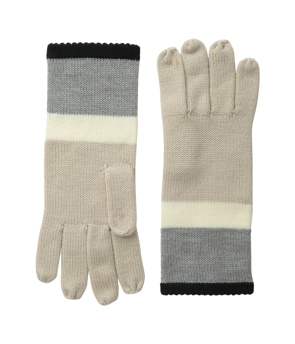 Kate Spade New York - Color Block Gloves (Pale Aster 1) Extreme Cold Weather Gloves