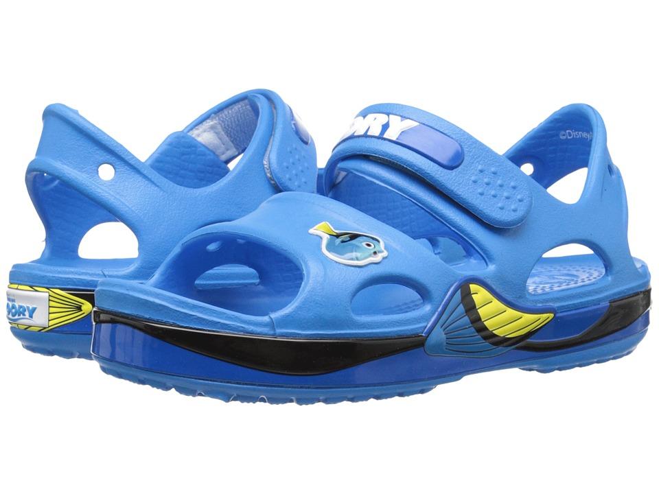 Crocs Kids - Crocband II Finding Dory Sandal (Toddler/Little Kid) (Ocean) Kids Shoes