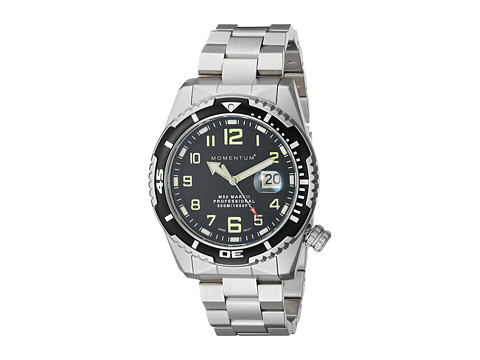 Momentum by St. Moritz - M50 Mark II Large (Black/Stainless Steel) Watches