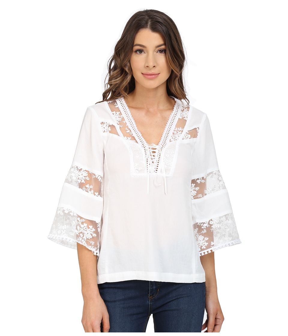 Nanette Lepore - Wind Song Top (Ivory) Women's Blouse