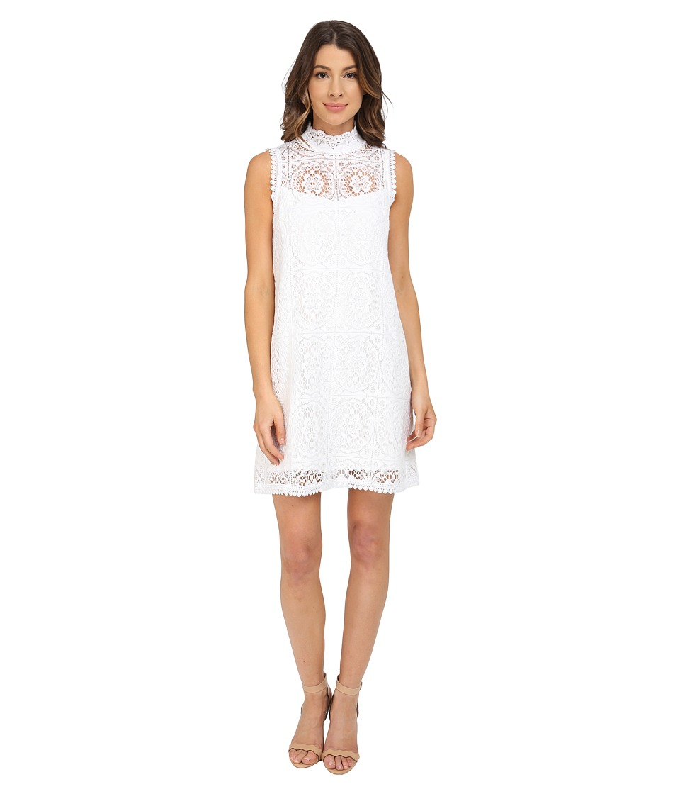 Nanette Lepore Sunkissed Lace Dress (Ivory) Women