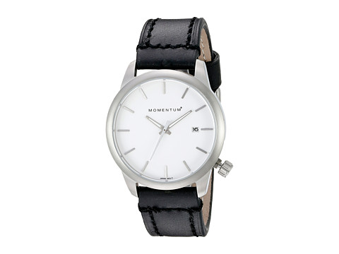 Momentum by St. Moritz - Logic SS (White/Black) Watches