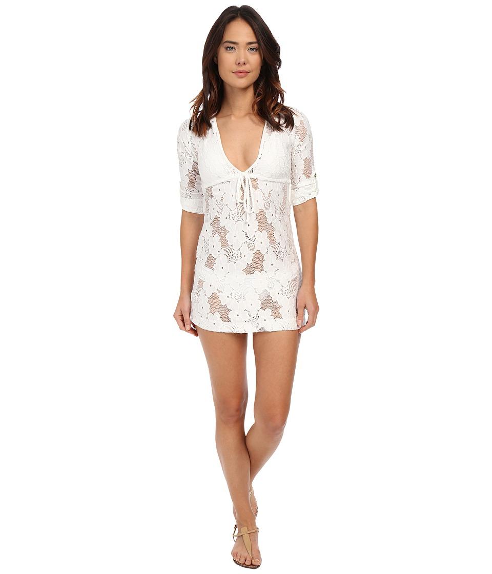 Lucy Love - Resort Dress (White) Women's Dress