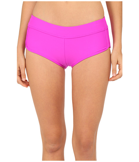 Next by Athena - Good Karma Banded Shorts (Berry) Women
