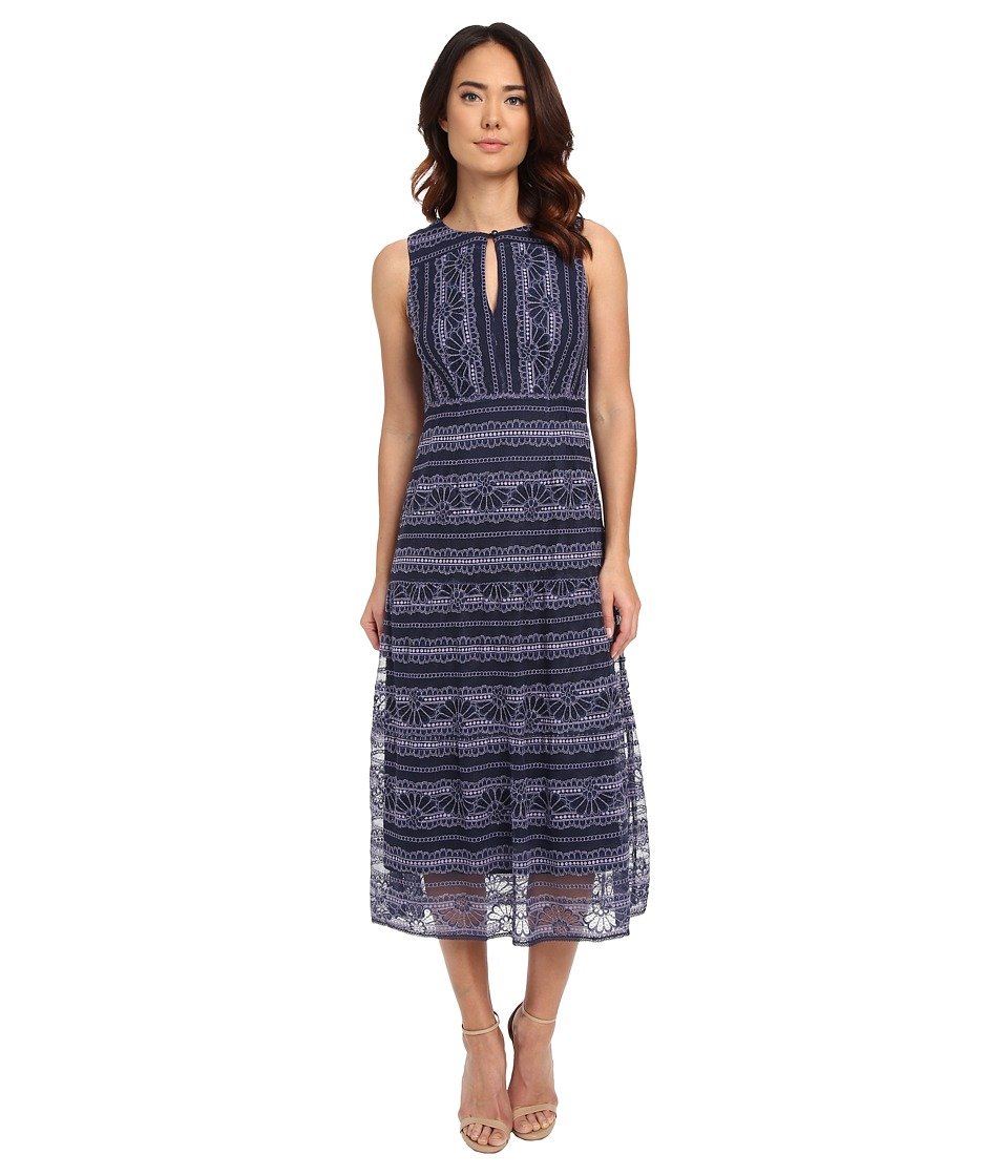 Nanette Lepore Dewdrop Dress (Blue/Purple Multi) Women