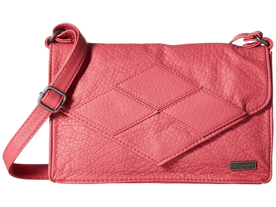 Roxy - In The Plan Crossbody (Slate Rose) Shoulder Handbags