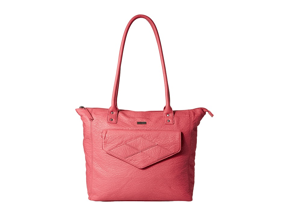 Roxy - Cheerfully Shoulder Bag (Slate Rose) Tote Handbags
