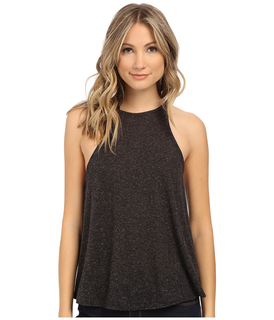Lucy Love - Charlie Tank Top (Charcoal) Women's Sleeveless