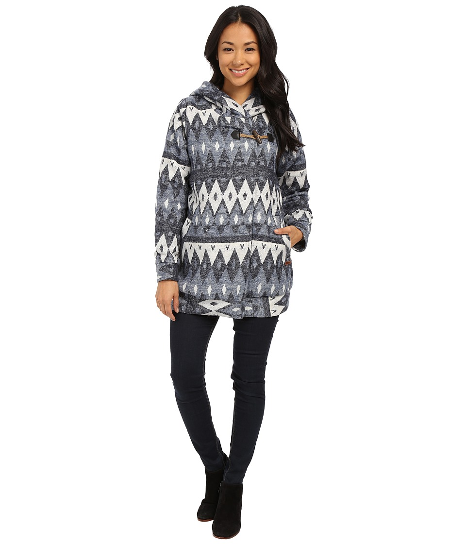 Roxy - Dreamy Days Jacket (Dreamy Days Jacquard Combo Pea) Women's Coat