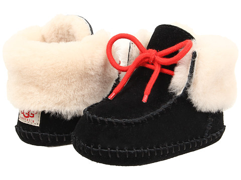 UGG Kids - Sparrow (Infant/Toddler) (Black) Girls Shoes