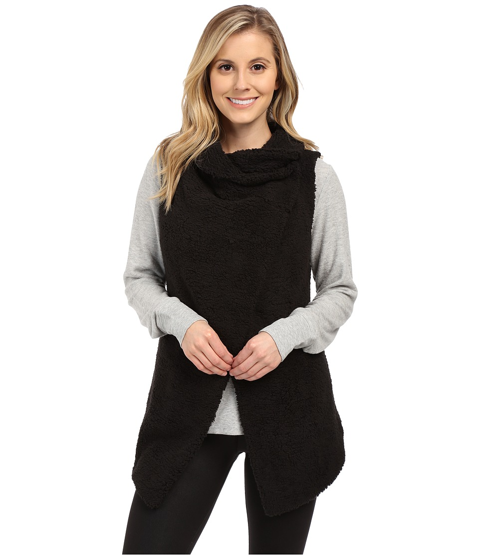 ALO - Cozy Up Vest (Black) Women's Vest