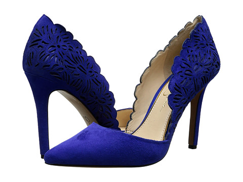Jessica Simpson - Cassel (New Colbalt Lux Kid Suede) High Heels
